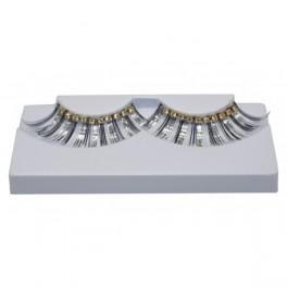Řasy Diamond stříbrno-zlaté 7 58066 -Jo