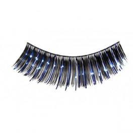 Řasy černé s modrým lurexem 8 18040m - Jo