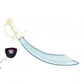 Pirát šavle + klapka 6 300760 - Ru