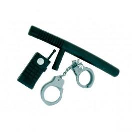Policejní set 3dílný 6 300971 - Ru