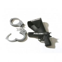 Policejní set 3dílný 6 300978 - Ru