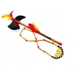 Indián set tomahawk+náhrdelník 6 220711 - Ru