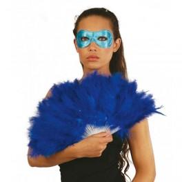 Vějíř péřový modrý 6F 16402 - Gu