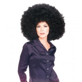 Paruka Super Afro černá 5 50679 - Ru