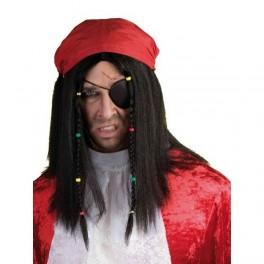 Pirát paruka se šátkem 5 7043 - Ru
