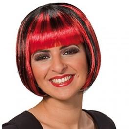 Paruka Trixy červeno-černá 5 4243 - Ru