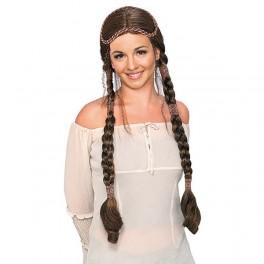 Renaissance lady hnědá 5 50677 - Ru