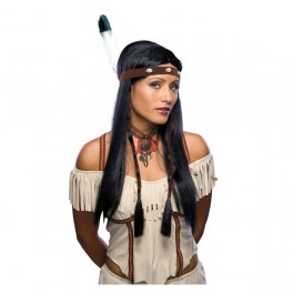 Paruka Indiánka s čelenkou 5 51703 - Ru