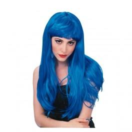 Paruka Glamour modrá 5 50420 - Ru
