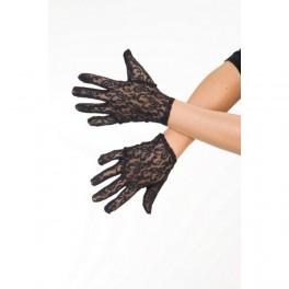 Rukavice krajkové černé 6 302643 - Ru