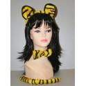 Set tygr (dětský) - uši, motýlek, ocásek 4266C-Li