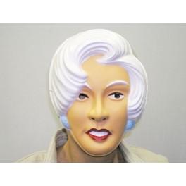 Maska žena s bílými vlasy 5437 U -A-Wi