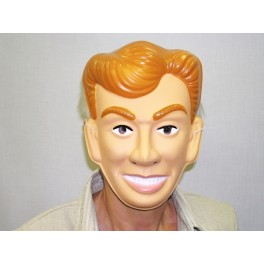 Maska muž s blond vlasy 5437 U - C- Wi