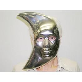 Maska stříbrná měsíc 5118 L - B - Wi