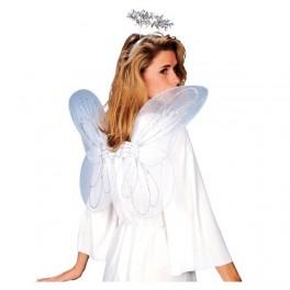 Křídla bílá + svatozář 13628 - Ru