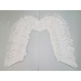 Křídla Andělská se stříbrným lurexem 1321 - Li