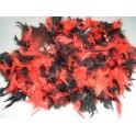 Boa dvoubarevné černočervené 6 301952čč - Ru
