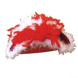 Třírohý červený s boa 4 938 - Ru