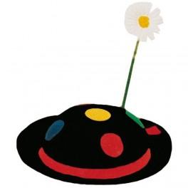 Klobouk s květem 4 125517A - Ru