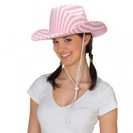 Růžovo-bílá kovbojka 4 410244 - Ru