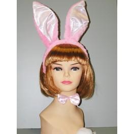 Set králík - uši, ocásek, motýlek 470970 - Li