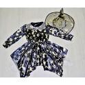 Kostým čarodejnice čiernozlatá 43221 - Li