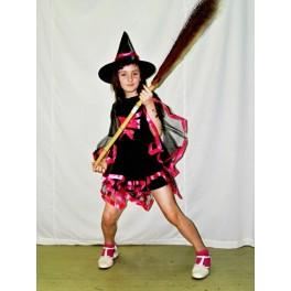 Kostým čarodejnice čiernoružová 2008 - Li