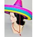 Mexiký klobouk různobarevný 3282 - Li