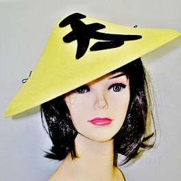Klobouk žlutý Čína 90211 -Li