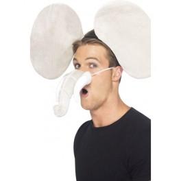 Slon - uši+ nos 24288 - Sm