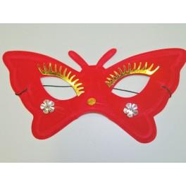 Škraboška červený motýl 2025A-Li