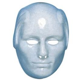 Maska na domalování plešatý muž 00053 -B-Wi