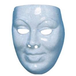 Maska na domalování mladá žena 00053 -E- Wi