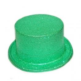 Klobouk buřinka zelená (flitrová) 3202F-Li