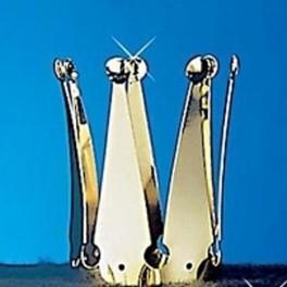 Korunka kovová zlatá 6 160739 - Ru