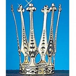 Korunka kovová zlatá 6 160716 - Ru