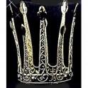 Krásná zlatá korunka s perličkami 6 160782 - Ru