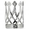 Korunka kovová stříbrná 6 160785 - Ru