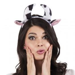 Kráva - uši + ocas + motýlek 978291 - Go