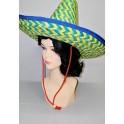 Mexický žltozelený klobúk 3281B - Li