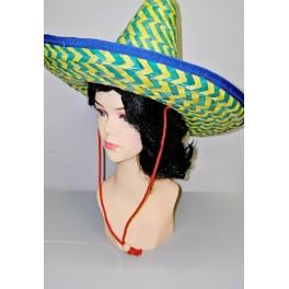 Mexický žlutozelený klobouk 3281B - Li