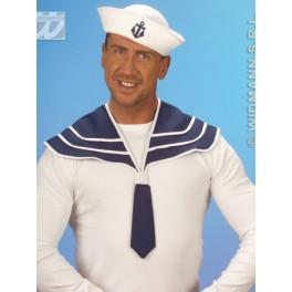 Námorník modrý golier a čiapky 5469-a-Wi