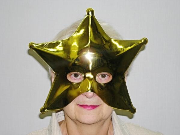 Maska zlatá hvězda 5118 L - A - Wi