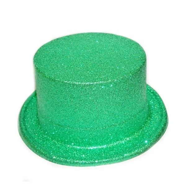 Klobouk cylindr zelený 8254 - Ge